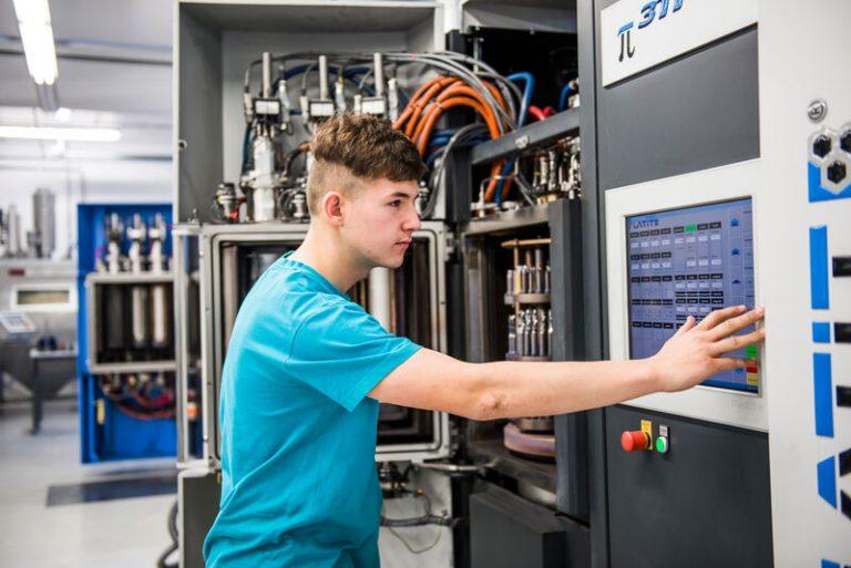 Ausbildung direkt vor der Haustür – Präzisionswerkzeugmechaniker in Sien