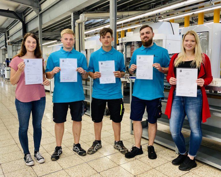 Ausbildung: Ein besonderer Jahrgang bei Müller Präzisionswerkzeuge