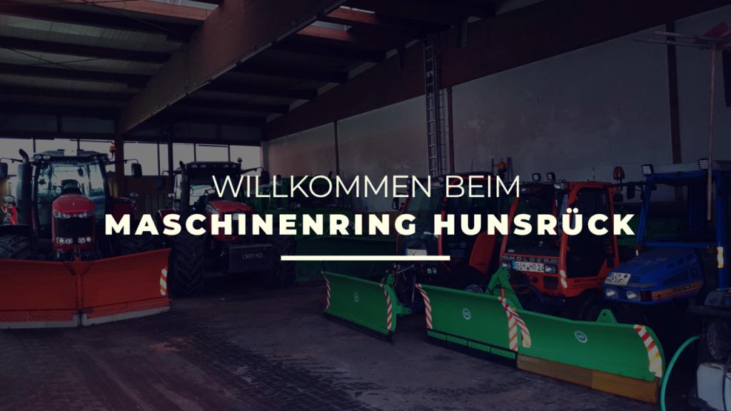 Willkommen bei: Maschinenring Hunsrück GmbH