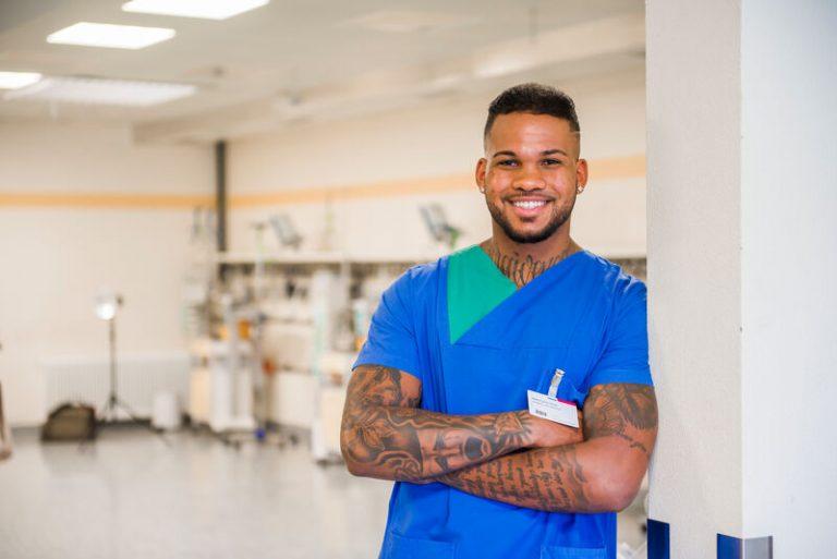Vom Lackierer zum Gesundheits- und Krankenpfleger