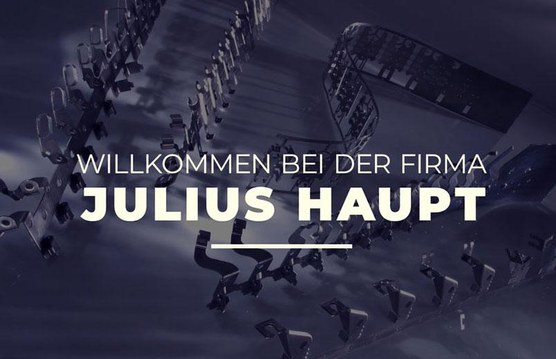Willkommen bei: Julius Haupt GmbH